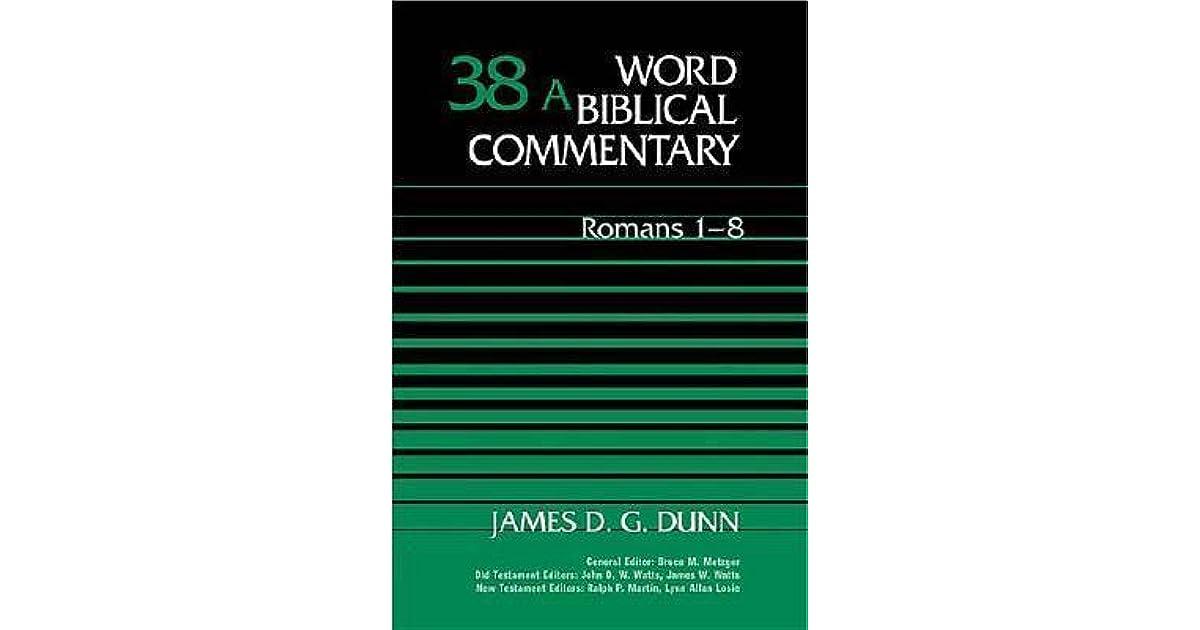 romans 1 8 human identity