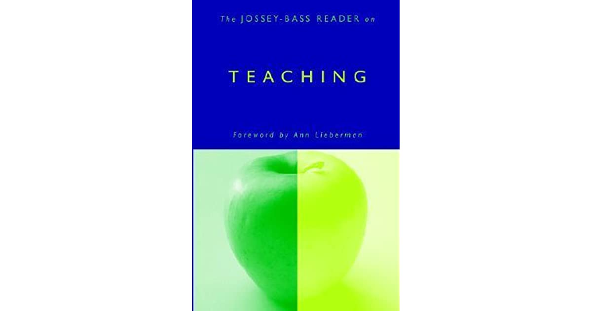 The jossey bass reader on teaching by jossey bass fandeluxe Images