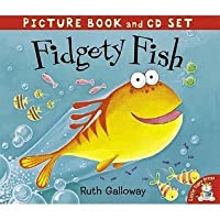 Fidgety Fish (Book & Cd)