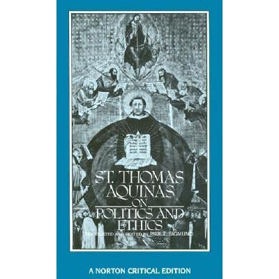 on politics and ethics by thomas aquinas