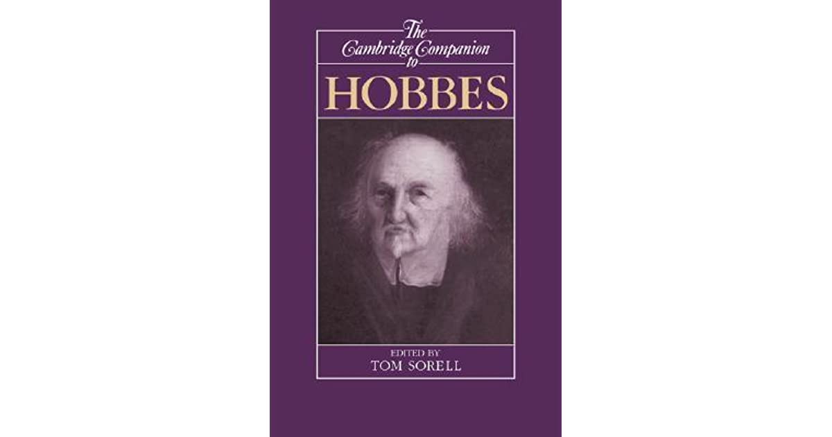 The Cambridge Companion to Hobbes (Cambridge Companions to Philosophy)