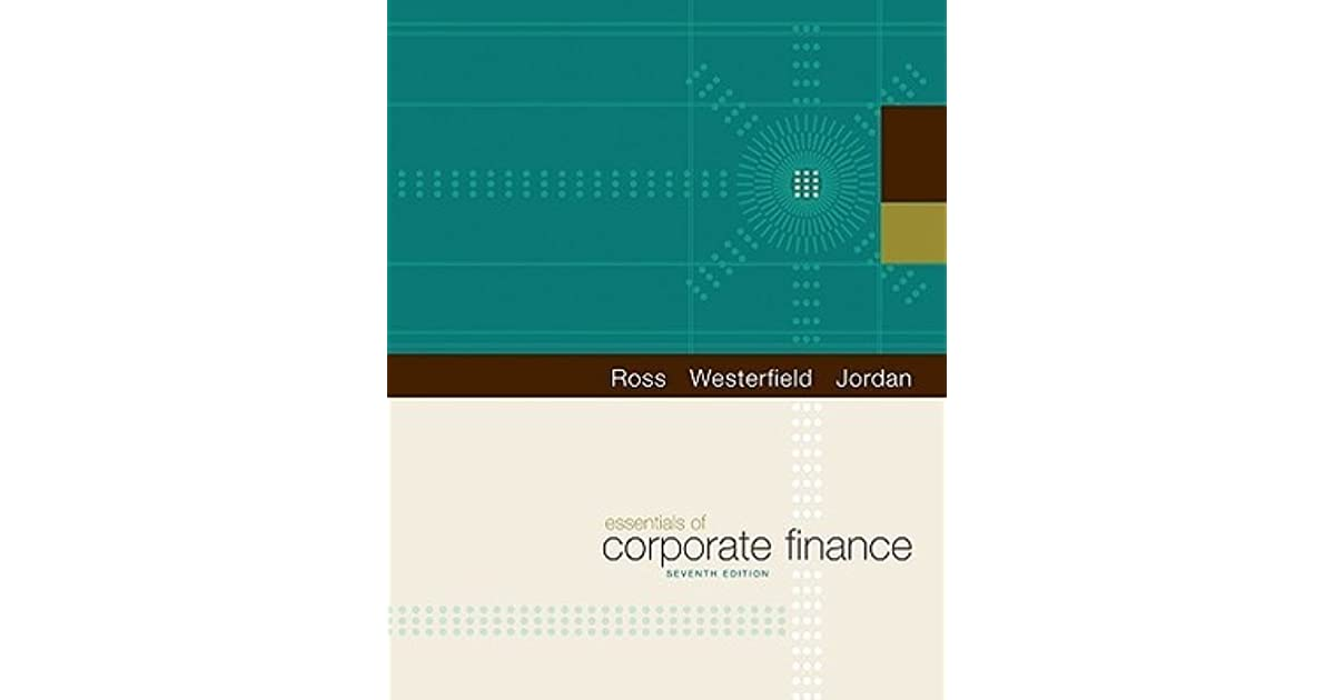 Essentials of corporate finance by stephen a ross fandeluxe Choice Image