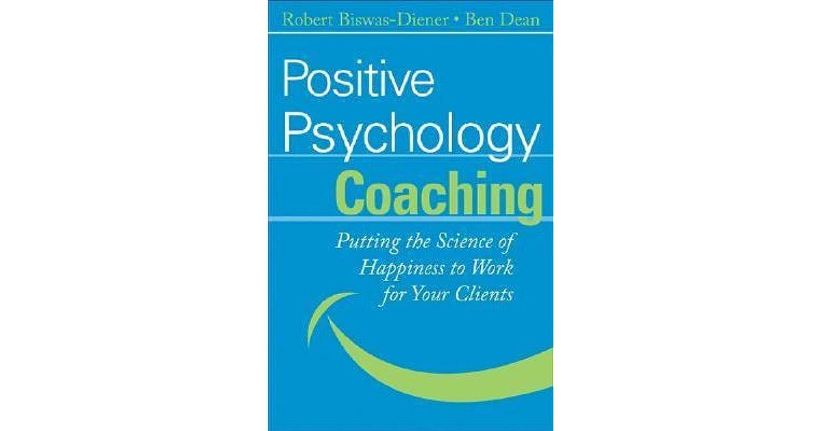 positive psychology as social change biswas diener robert