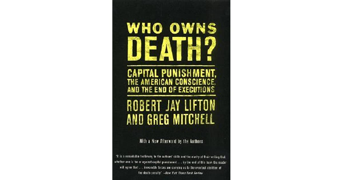 death to capital punishment The notion of punishment is inextricably linked to the concepts of wrong-doing and dessert to put it another way, the idea of punishment is, logically, entailed by and in turn entails the larger idea of justice.