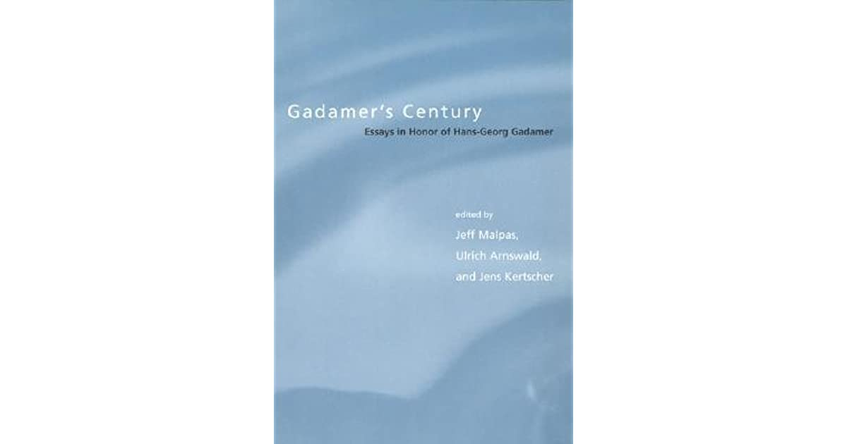 relevance of the beautiful and other essays hans georg gadamer Read book online: the relevance of the beautiful and other essays by hans-georg gadamer presents for the first time in english the most important of gadamer's.