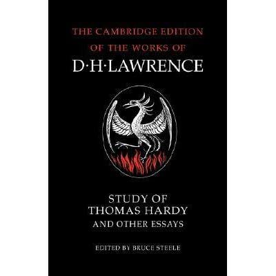 Phd thesis on thomas hardy