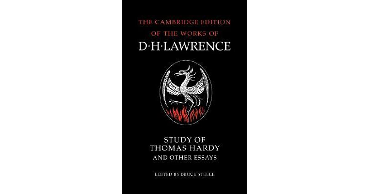 study of thomas hardy and other essays by d h lawrence