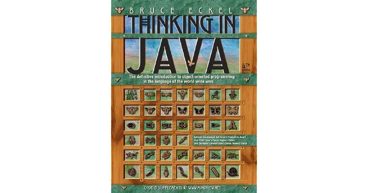 Thinking In Enterprise Java Pdf