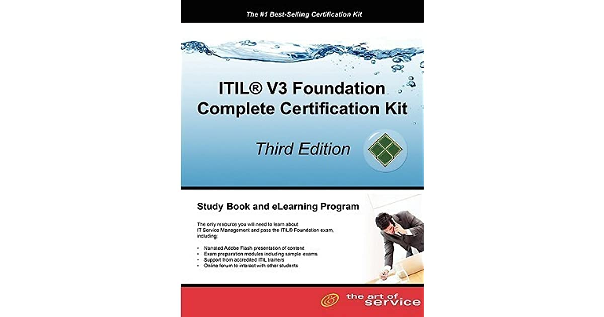 Itil V3 Foundation Complete Certification Kit Study Guide Book And