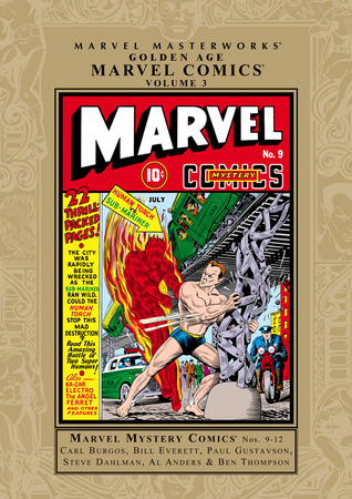 Marvel Masterworks: Golden Age Marvel Comics, Vol. 3