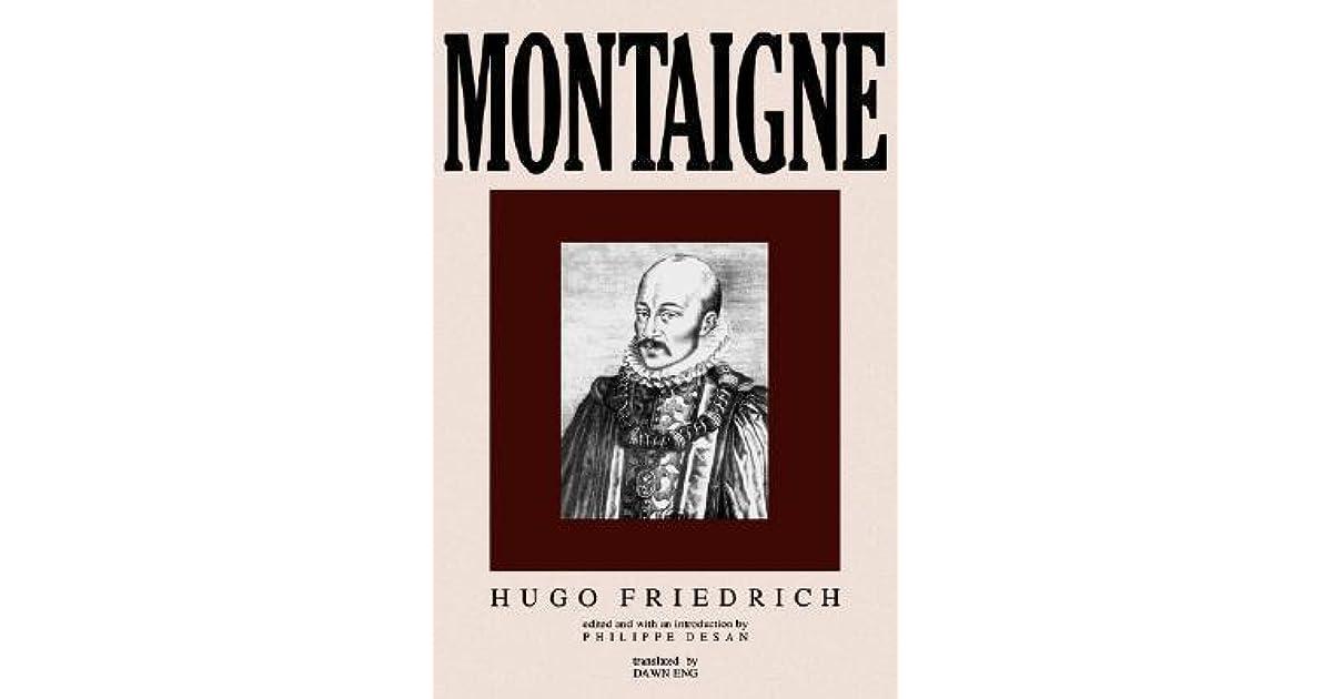 Montaigne by Hugo Friedrich