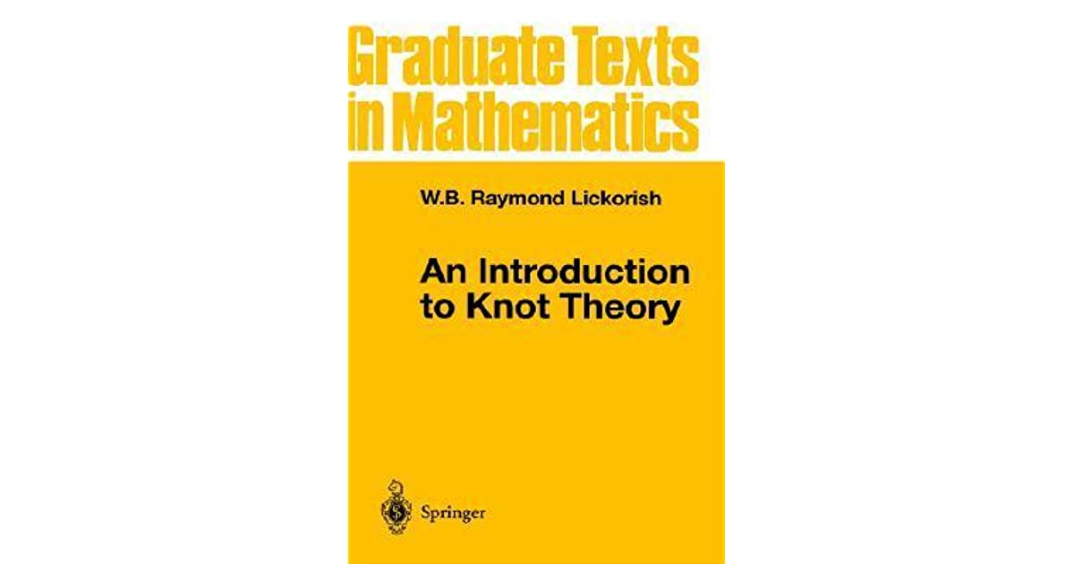 INTRODUCTION KNOT THEORY EBOOK DOWNLOAD