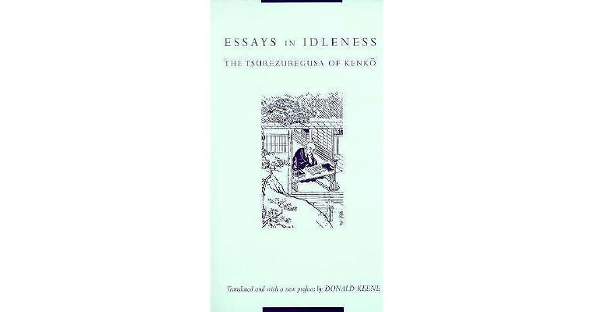 kenko essays on idleness