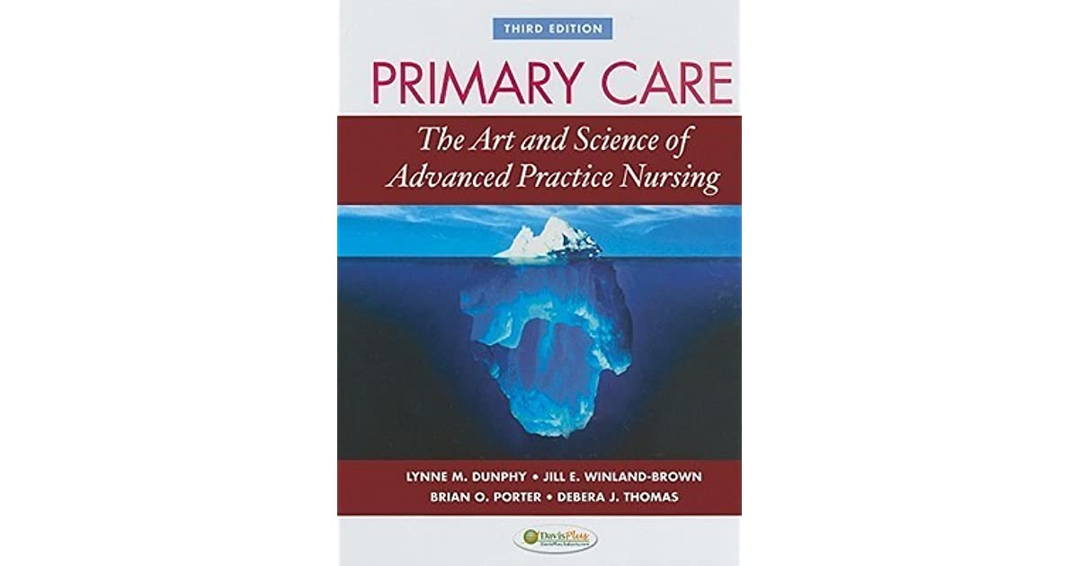 primary care art and science of advanced practice nursing