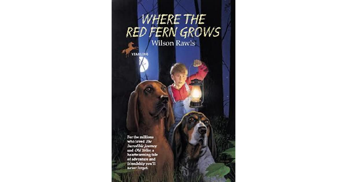 an analysis of the book where the red fern grows by wilson rawls Where the red fern grows book summary and study guide wilson rawls books note: the views expressed here are only those of.
