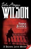 Simple Justice (Benjamin Justice, #1)