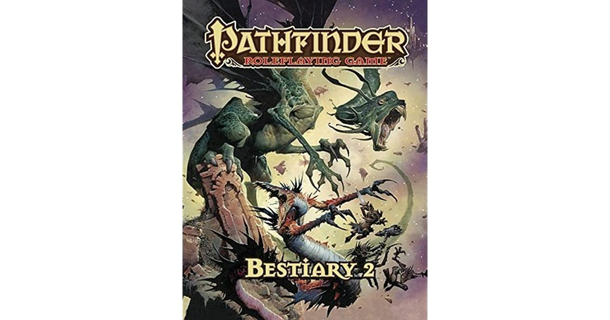 Pathfinder Roleplaying Game: Bestiary 2 by Wolfgang Baur