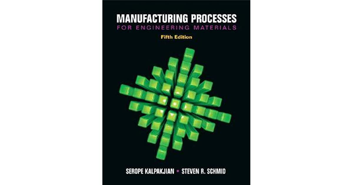 Manufacturing Engineering And Technology Kalpakjian Pdf