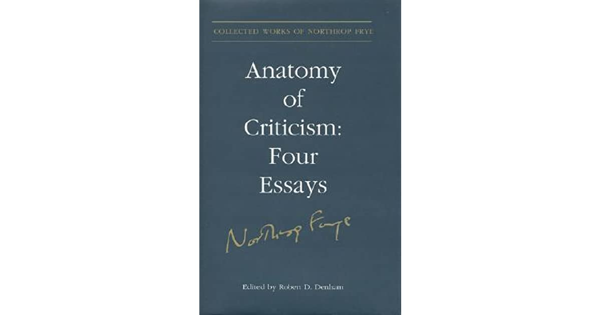 10001010001s Review Of Anatomy Of Criticism Four Essays