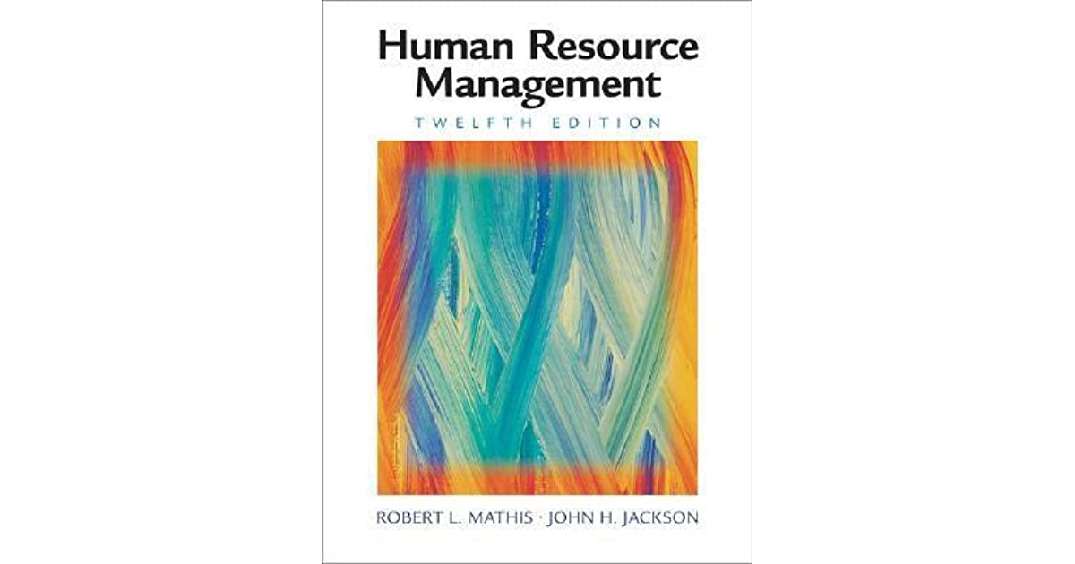 Human resource management by robert l mathis fandeluxe Gallery