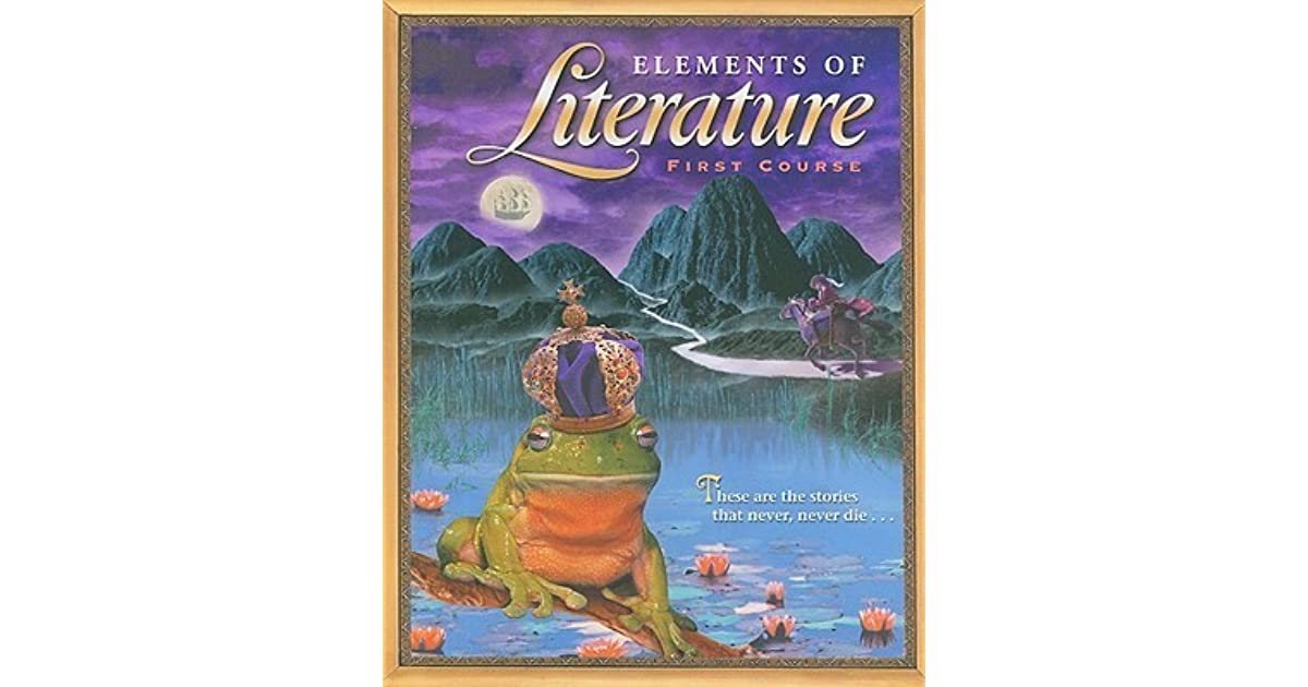 Elements of literature first course by holt rinehart and winston elements of literature first course by holt rinehart and winston inc fandeluxe Image collections