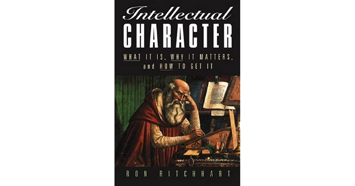 What is Intellectual Character?