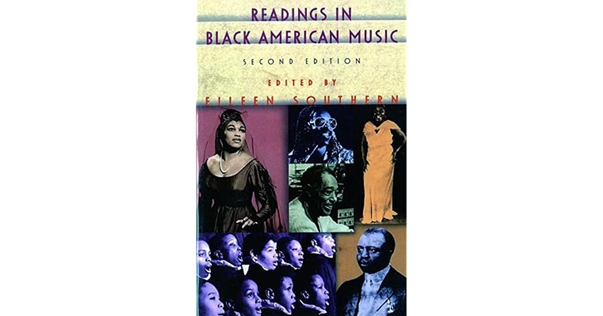 american black eileen essay music southern Center for black music research eileen southern papers center for black music research, library and archives page 1 of 83 .