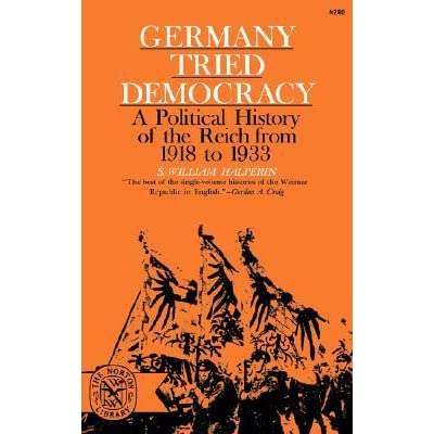 successes and failures of the german democracy from the period 1918 1933 Weimar germany was the name given to the period of german history from 1919 years of the weimar republic  a disaster for democracy in weimar germany.