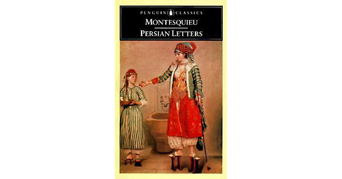 montesquieu persian letters letters by montesquieu reviews discussion 11207 | 509686. UY630 SR1200,630