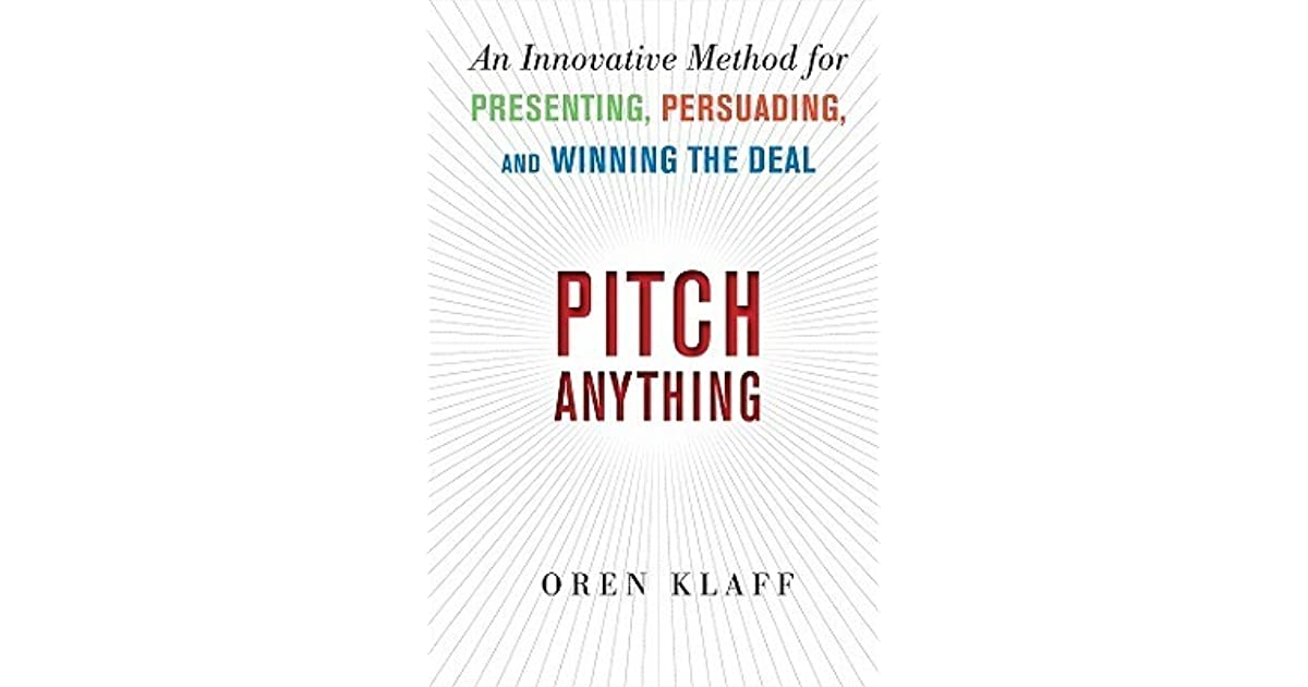 Pitch Anything Ebook