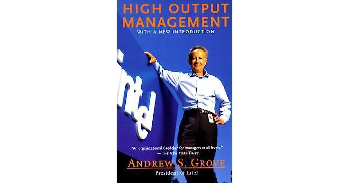 High Output Management Ebook