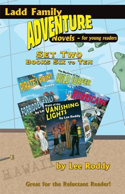Ladd Family Adventure: Set Two, Books Six to Ten: Mystery of the Wild Surfer/Peril at Pirate's Point/Terror at Forbidden Falls/Eye of the Hurricane/Ni
