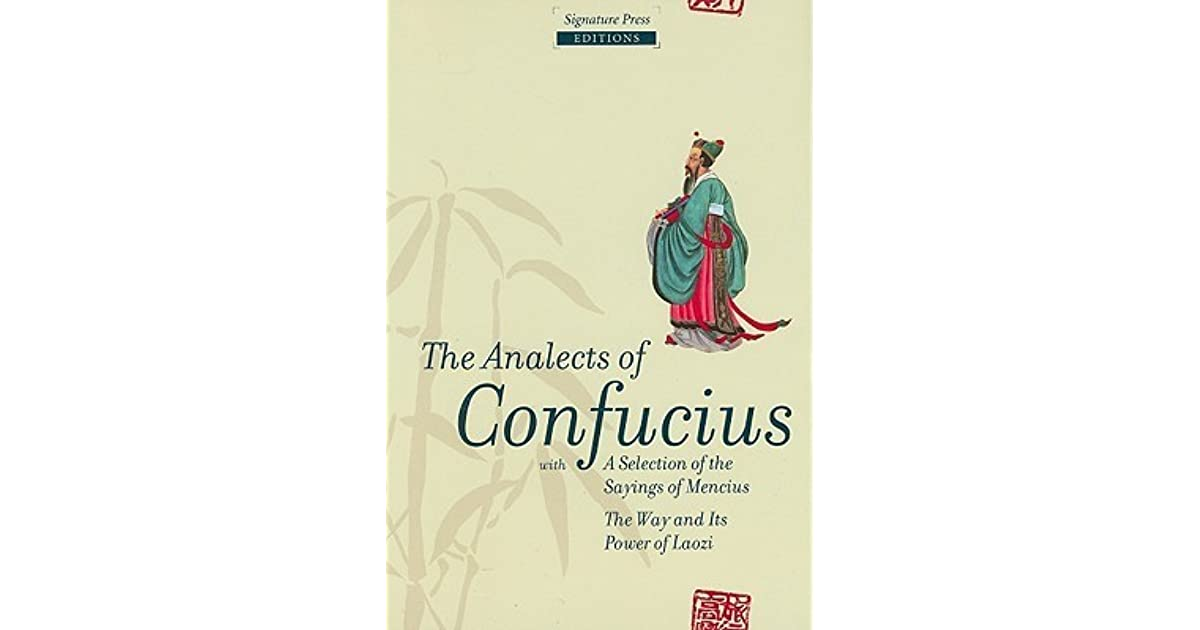 book review the analects of confucius Download the app and start listening to the analects of confucius today books that matter: the analects of confucius by: 2 of 5 people found this review helpful.