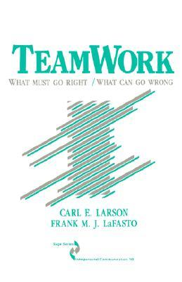 Teamwork: What Must Go Right/What Can Go Wrong