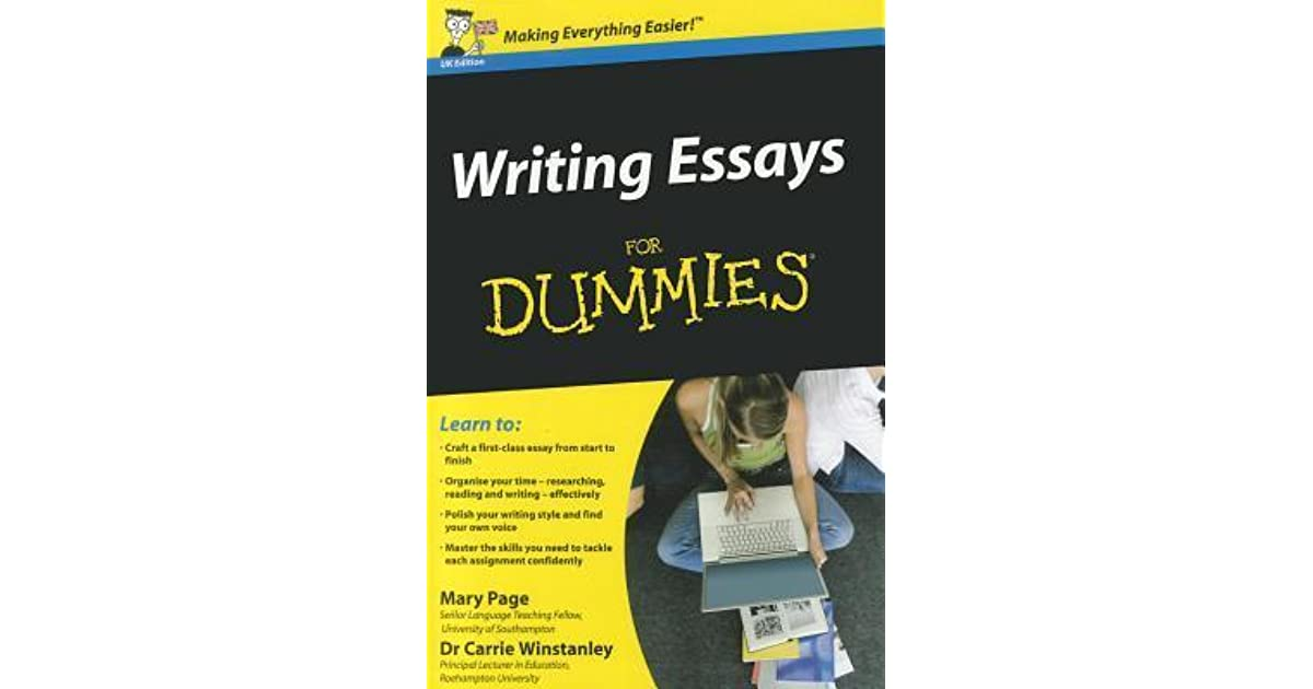 How to write an essay for dummies