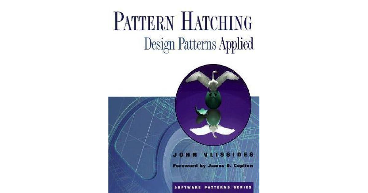 Pattern Hatching Design Patterns Applied Pdf