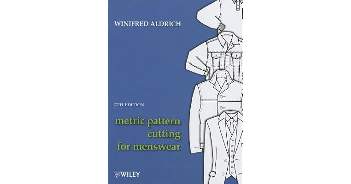 Metric pattern cutting for menswear by winifred aldrich fandeluxe Image collections