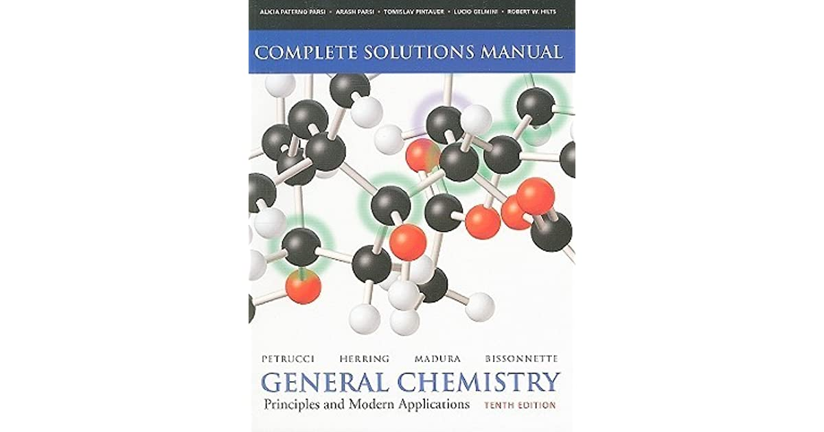 General chemistry complete solutions manual principles and modern general chemistry complete solutions manual principles and modern applications by ralph h petrucci fandeluxe Images