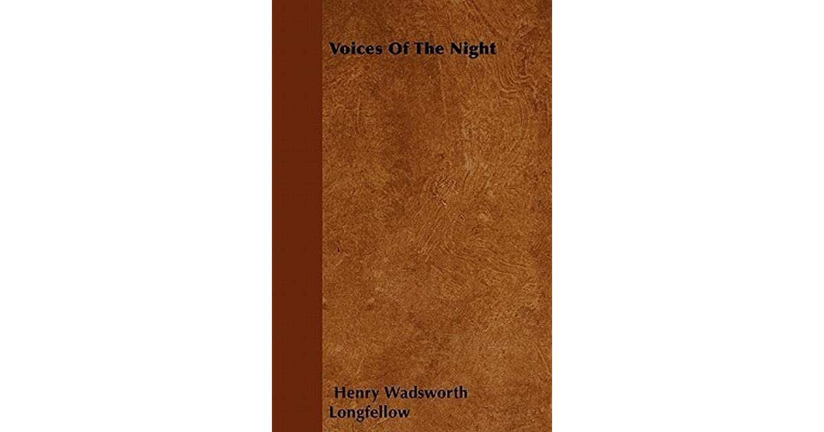 hymn to the night by henry wadsworth longfellow