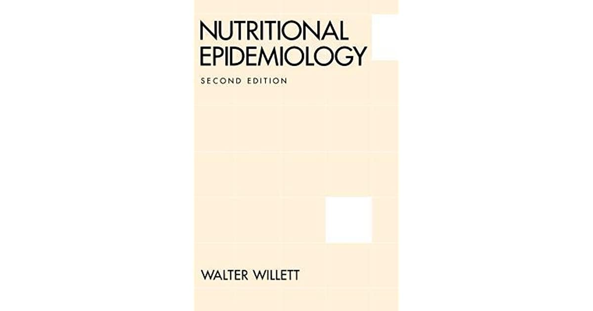 Overview of Nutritional Epidemiology - Oxford Scholarship
