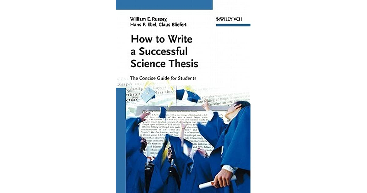 science and thesis