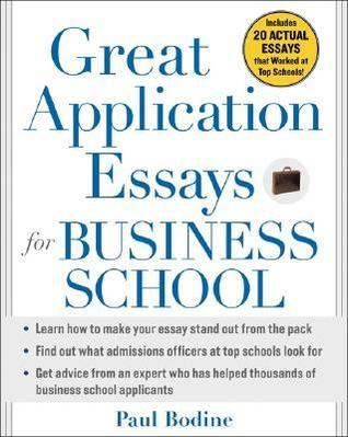 Great application essays