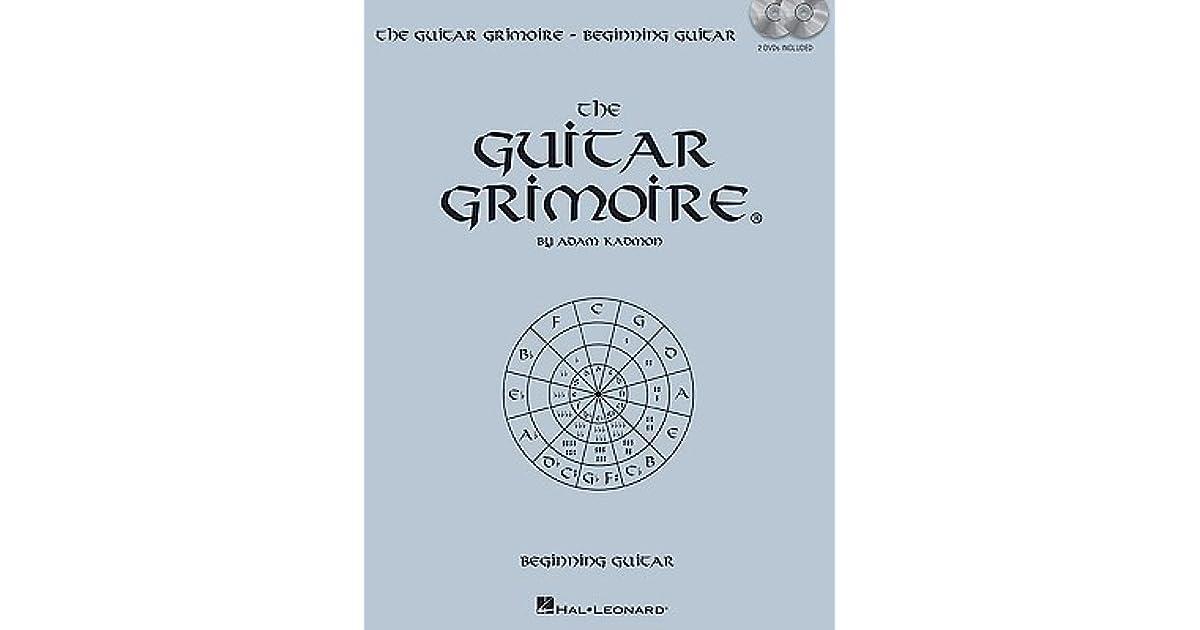 Guitar Grimoire Beginning Guitar By Adam Kadmon