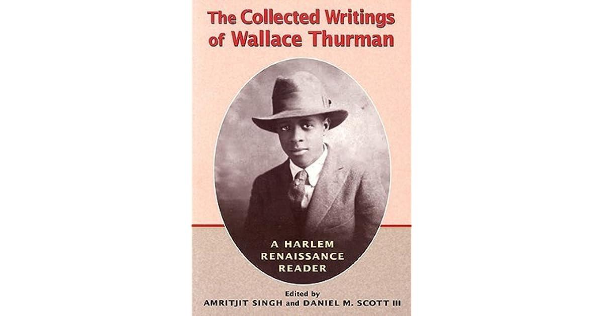 wallace thurman essays