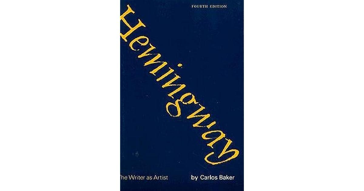 hemingway the writer as artist