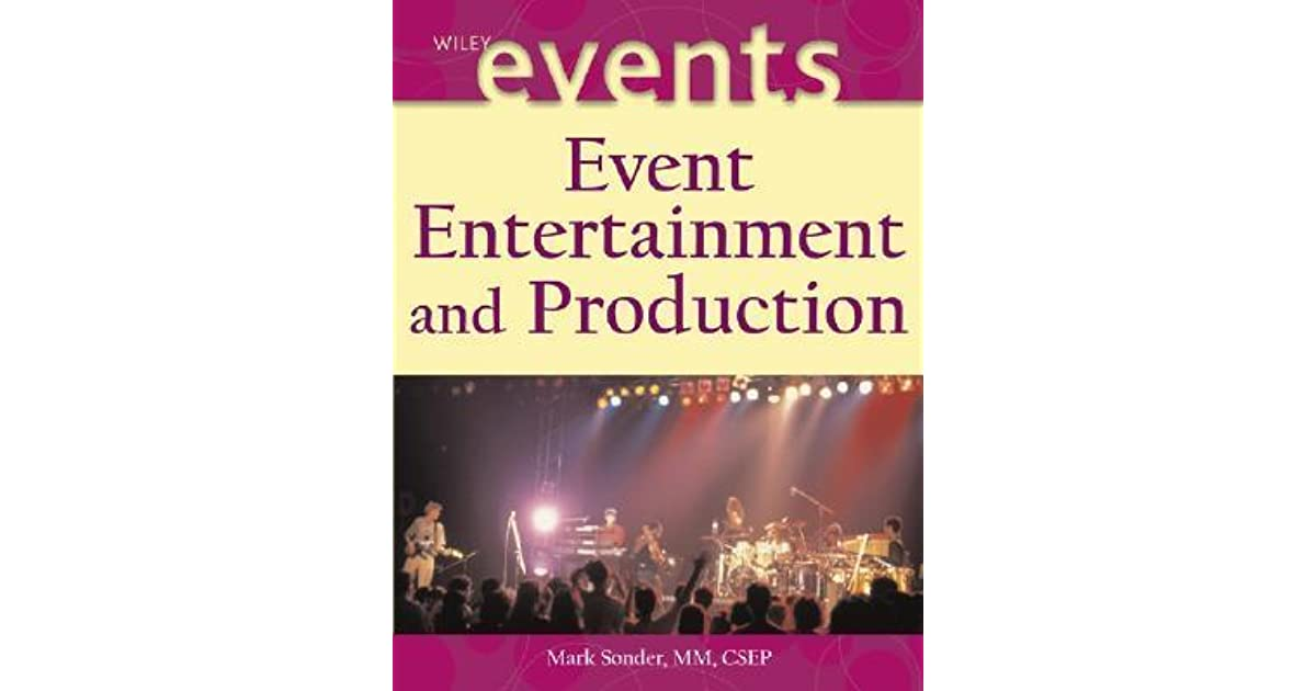 Event Entertainment and Production by Mark Sonder