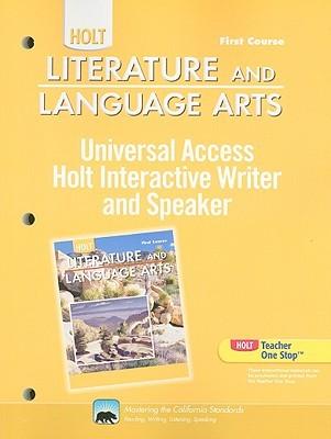 California Holt Literature And Language Arts Universal