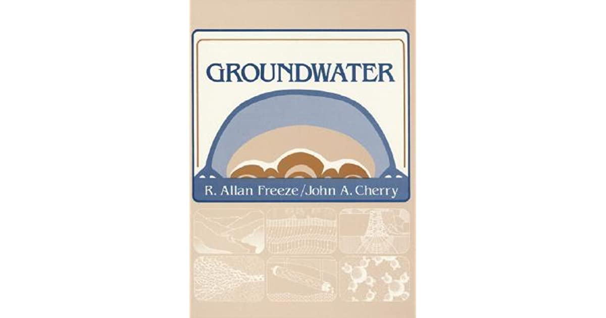 Groundwater by r allan freeze fandeluxe Choice Image