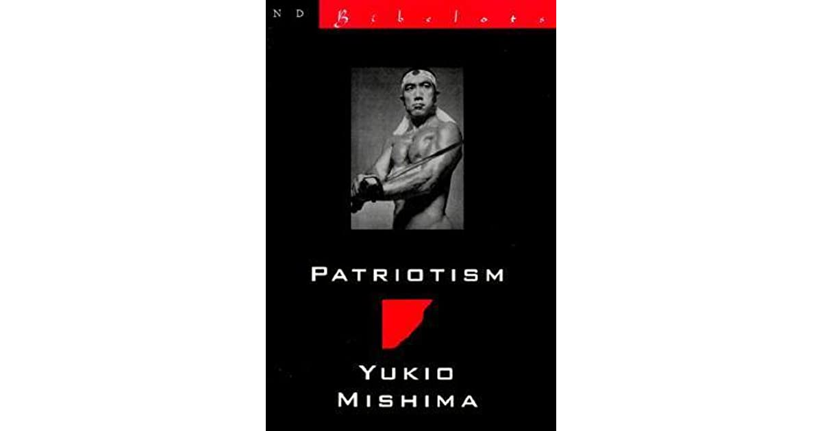 patriotism by yukio mishima essay writer