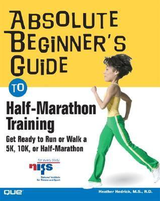Absolute Beginner's Guide to Half marathon trying to